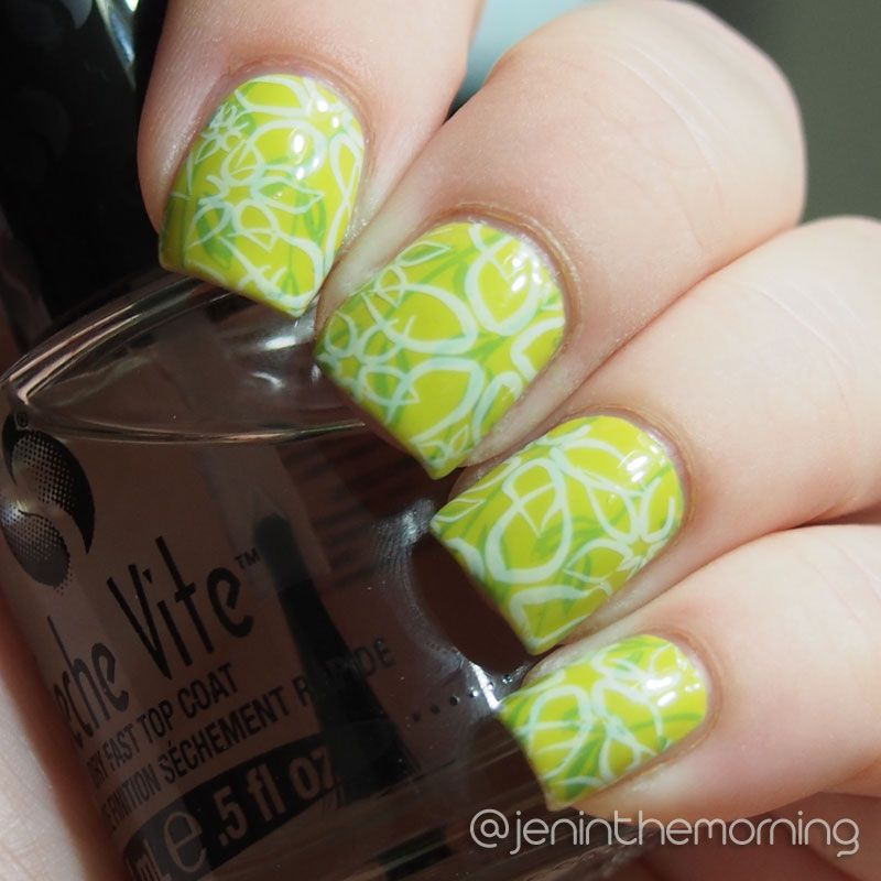 Layered Stamping Nicole by OPI -Sweet on Pete Sinful Colors – Snow ...