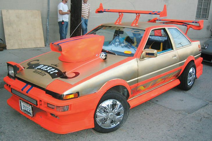The very best of the very worst car modifications  Terrible
