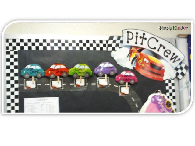Race Car Themed Room