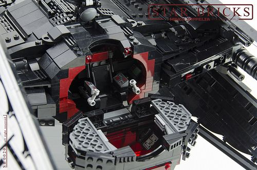 Lego Kylo Ren S Tie Silencer From The Last Jedi In Ucs Scale The Brothers Brick Star Wars Poster Lego Star Wars Lego