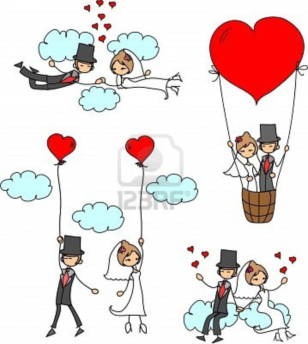 Cartoon Wedding Pictures Royalty Free Cliparts Vectors And Stock ...