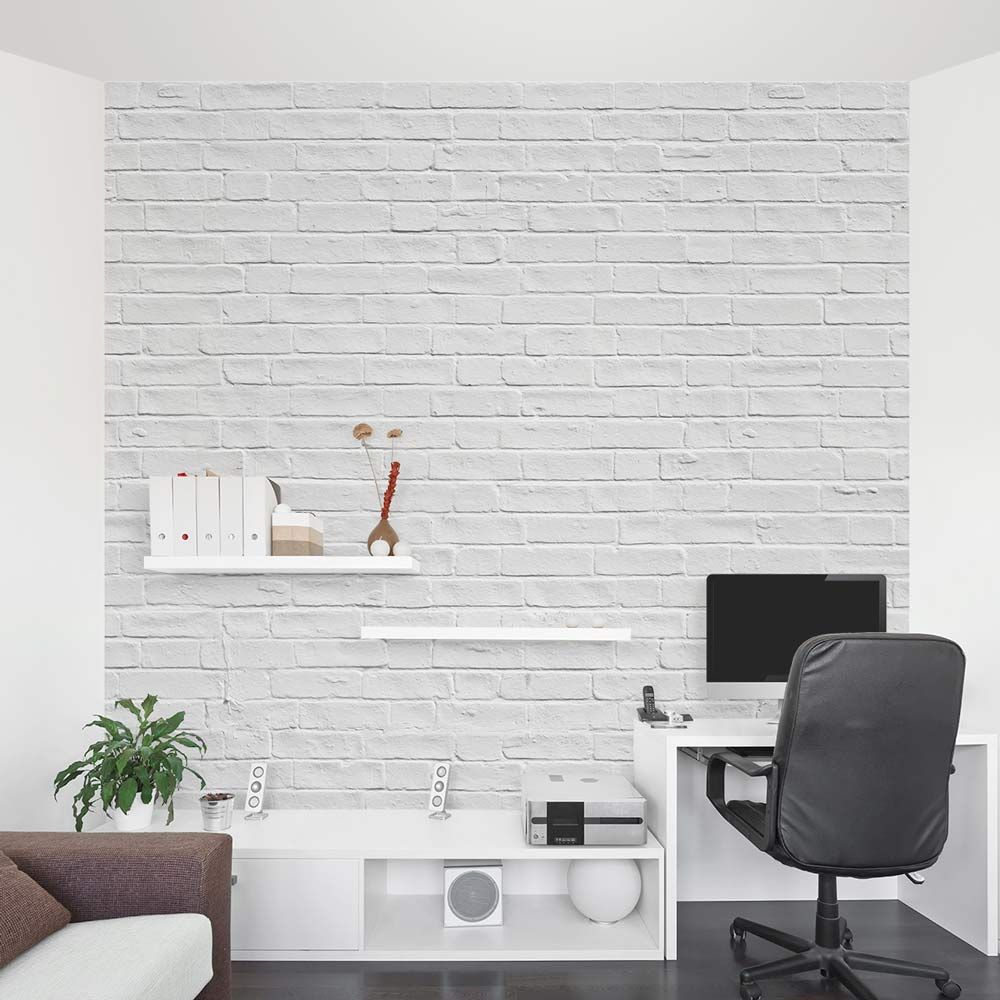 Best White Brick Mural Office Jpg 1000×1000 White Brick 400 x 300