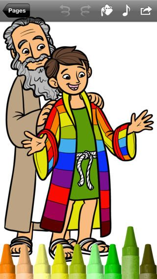 Bible coloring pages Free! For both iPhone & iPad Картинки
