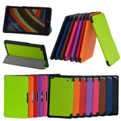 "Slim 3-folders Leather Case Skin Cover Stand For Lenovo Thinkpad 8 8.3"" 8.3 inch"