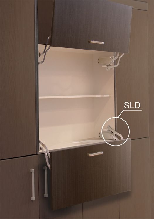 Vertical Swing Down Mechanism For Door W Guide Bar Nickel Grey Keuken Inrichting Bar