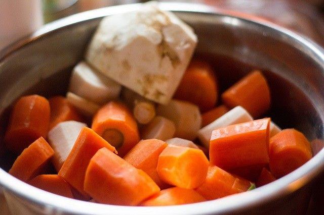 Rotete grønnsakssuppe