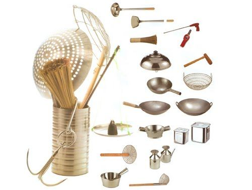 CHINESE COOKING UTENSILS