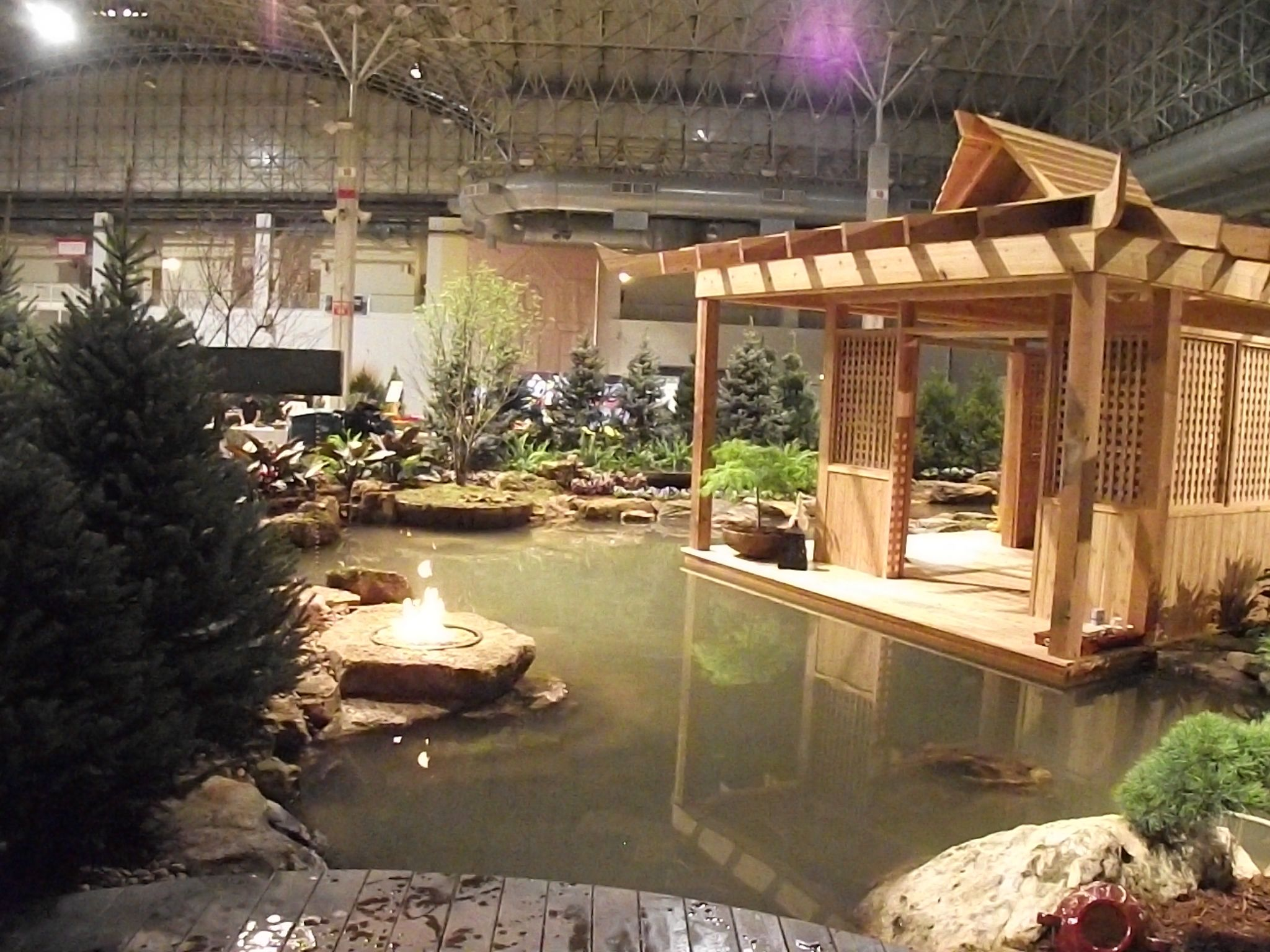 Part Of The Aquascape Display Garden At The 2014 Chicago Flower And Garden  Show.