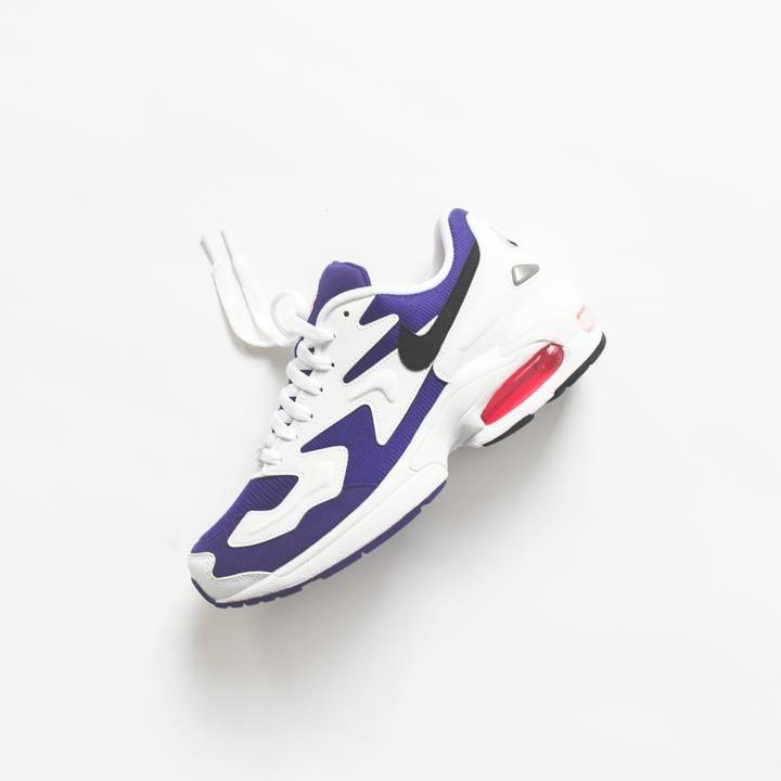 69d12cc2f5 Nike Air Max Light 2 - White / Black / Court Purple / Hyper Pink – Kith