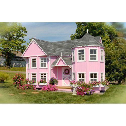 Sara S Victorian Mansion Diy Kit Playhouse Play Houses