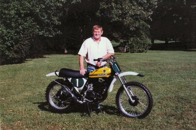 Joel Roberts , the fastest Motorcross racer of all time, even faster