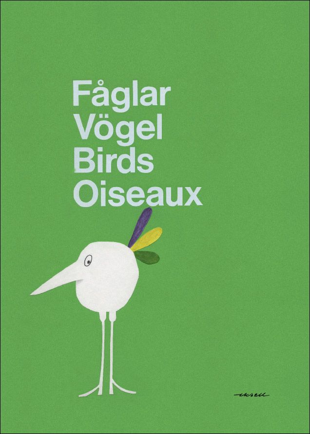 Poster by Olle Eksell.