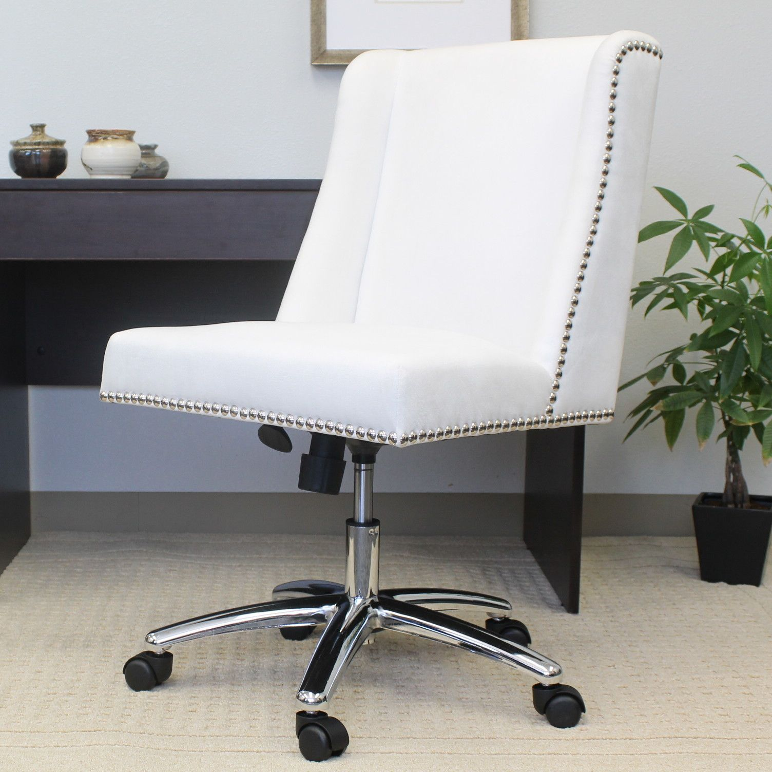 Jennifer Leather Desk Chair Cheap office chairs, Office