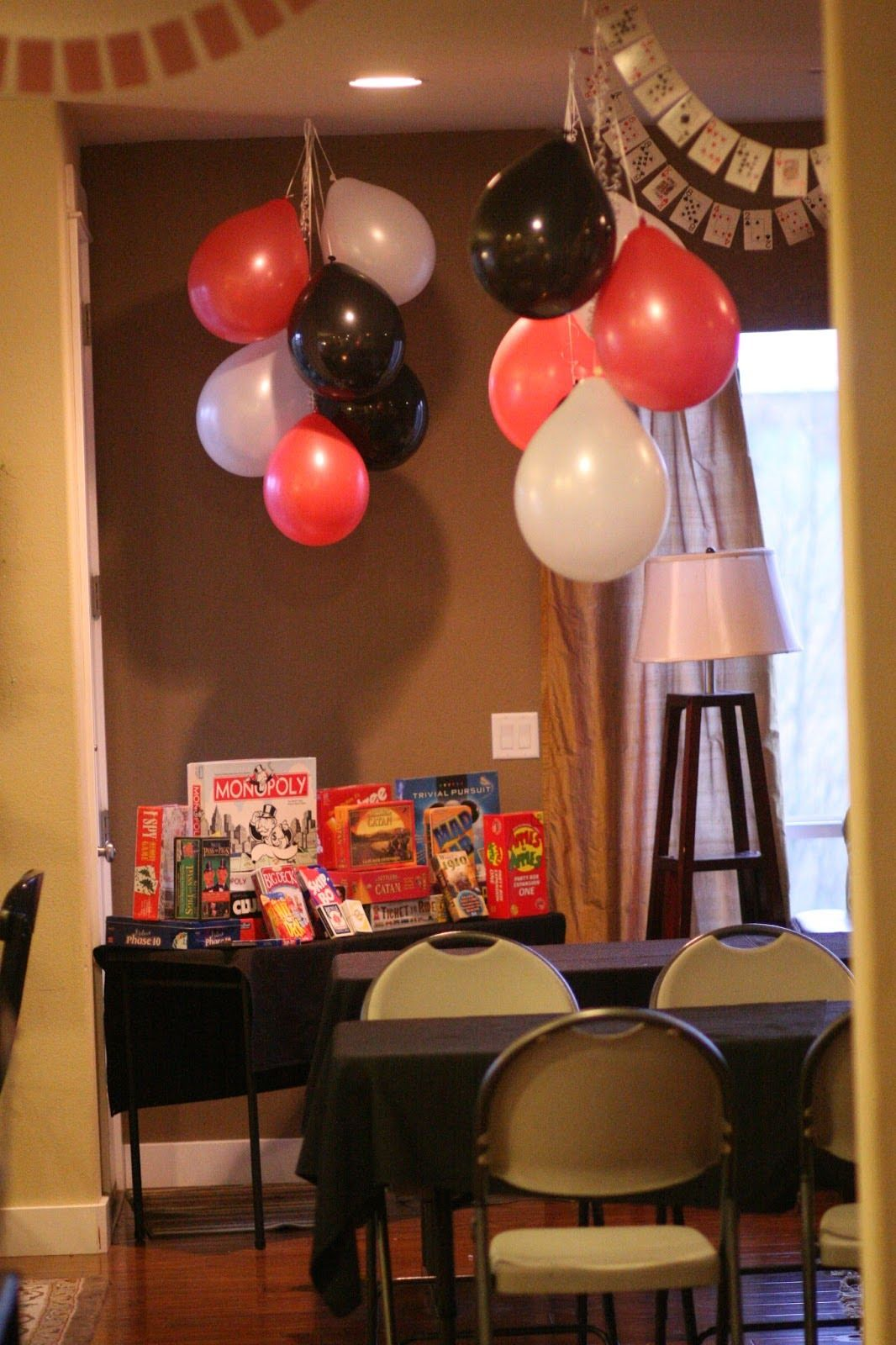Awesome Party Ideas on this blog (Superhero, Casino, Train) #party #games #food #activities #OnMySideOfTheBed