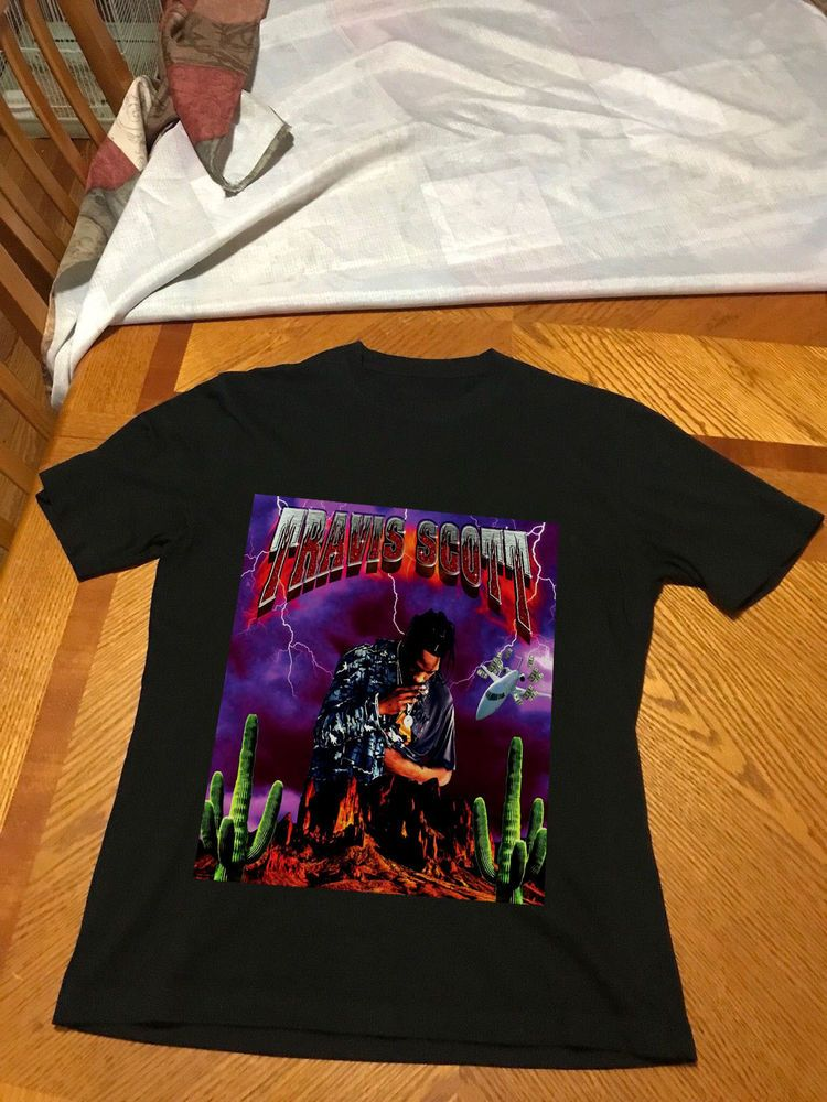 11f519305995 Travis Scott Pen & Pixel T-shirt RODEO MADNESS Tour Merch Gildan tee | eBay