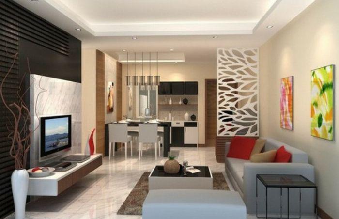 Wohnzimmer Ideen im Einklang mit den aktuellen Wohntrends - moderne wohnzimmer beleuchtung