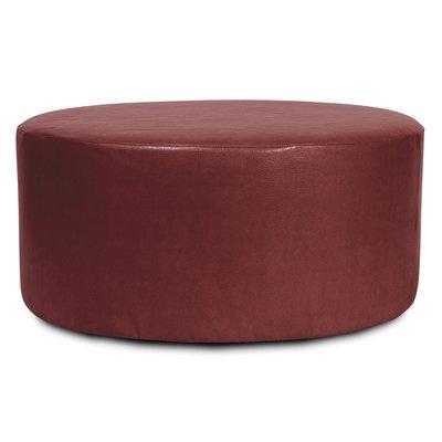 Orren Ellis Lehner Box Cushion Ottoman Slipcover Ottoman Slipcover Round Ottoman Slipcovers