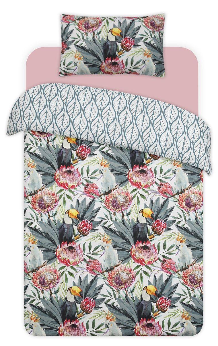 Primark Toucan Print Single Duvet Cover Spare Room In