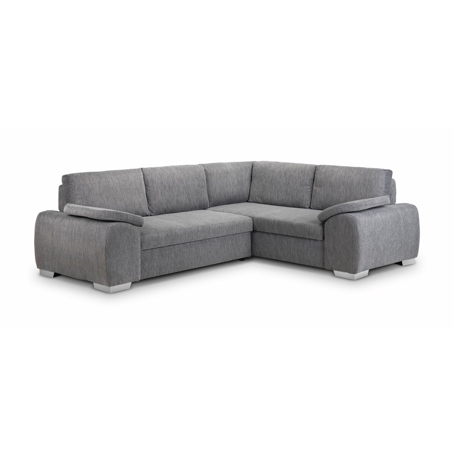 Enzo Corner Sofa Bed With Storage Fabric Next Day Delivery Enzo Corner Sofa Bed With Storage Fabric