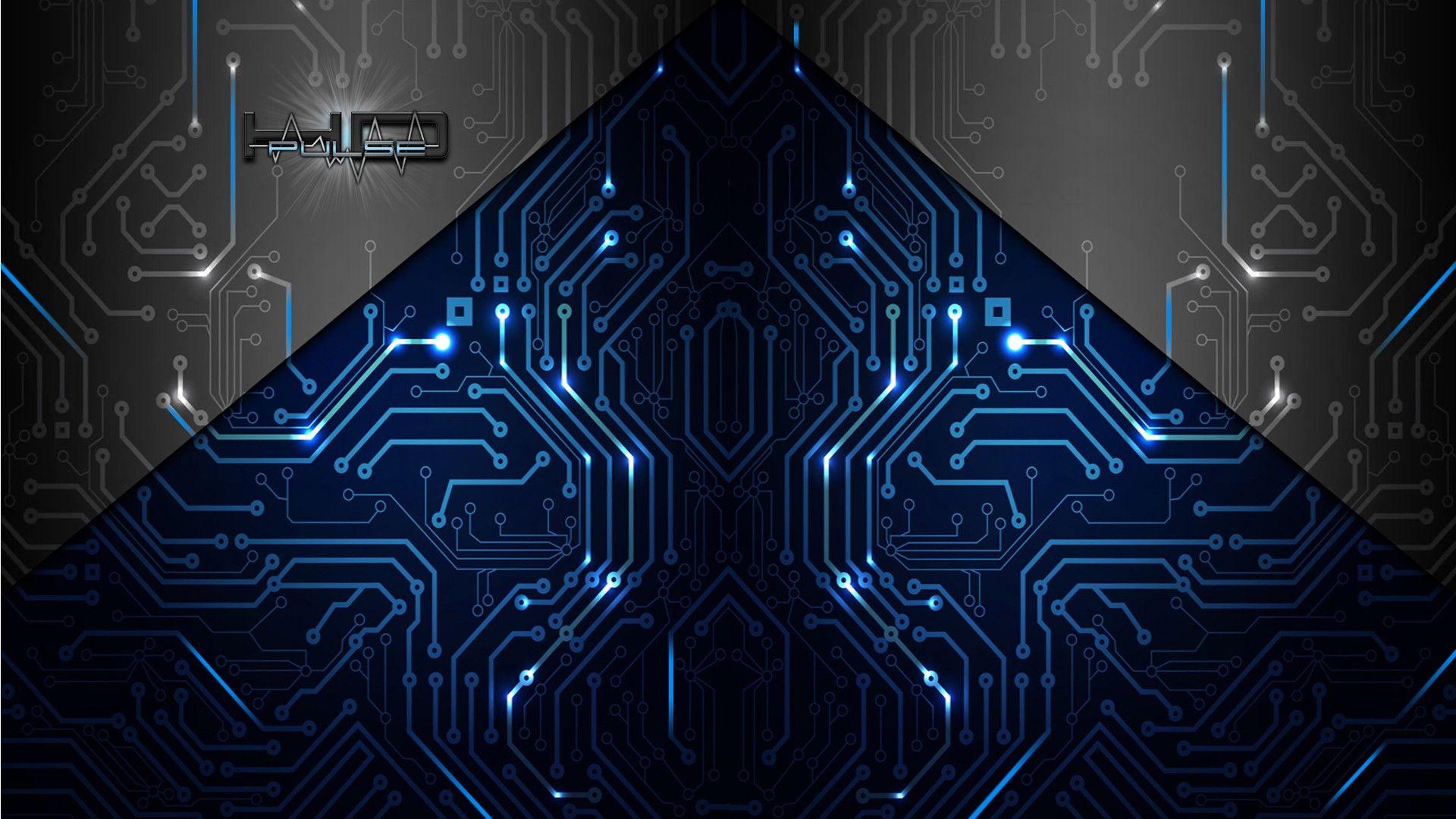 Electronic Circuit Wallpapers Group × Circuit Board Обои