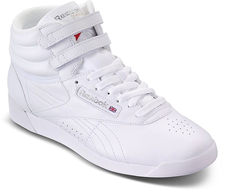 24e1ffb3c36 Reebok High Tops...worn with thick socks scrunched down. Sweet!