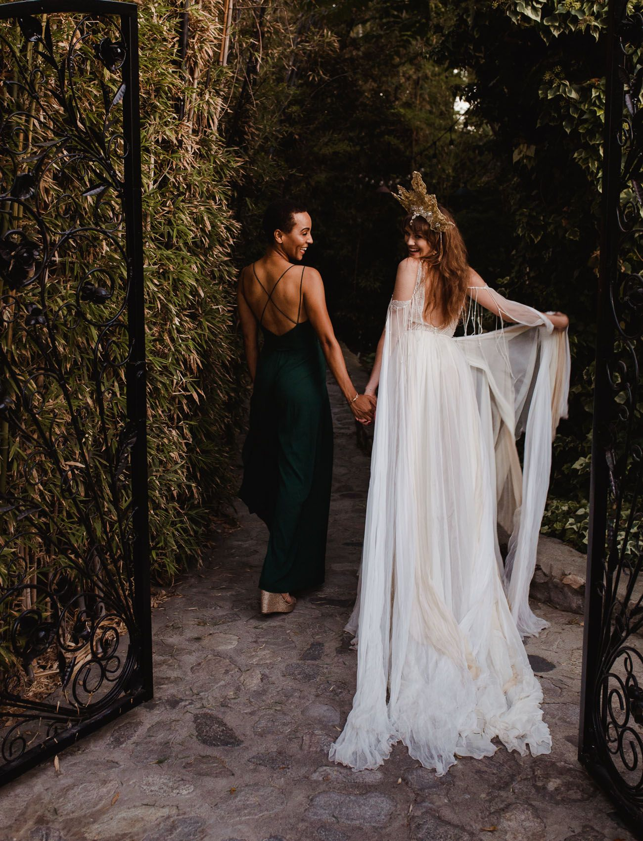Gold Dust Women: Witchy Stevie Nicks Inspired Wedding in the