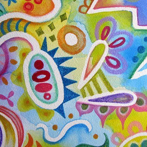 Tutorial Of Abstract Watercolor Pencil Art Watercolor Pencil Art