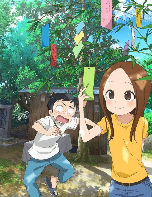 Kids Make Wishes in KARAKAI JOZU NO TAKAGI-SAN TV Anime Key Visual