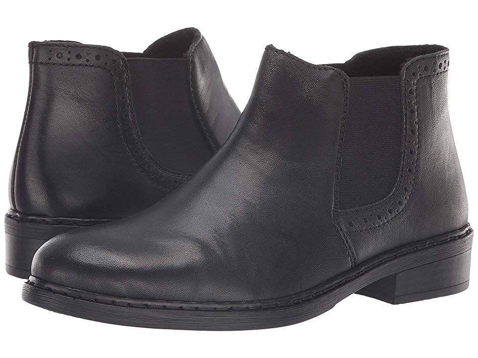 Rieker 77584 Josefin 84 Women's Shoes Black | Black shoes