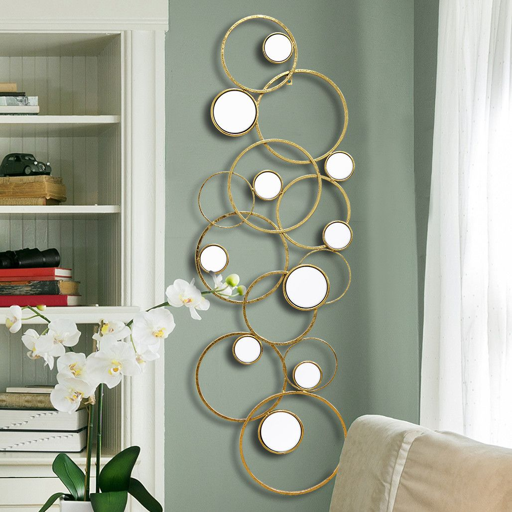 stratton home decor mirror geometric wall décor mirror on wall art decor id=63421