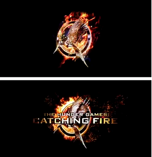 Catching Fire Logo D Hunger Games Catching Fire Mockingjay