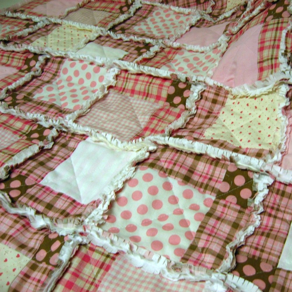 Rag Baby Quilt And Travel Bag Quilted Baby Blanket Quilt Patterns