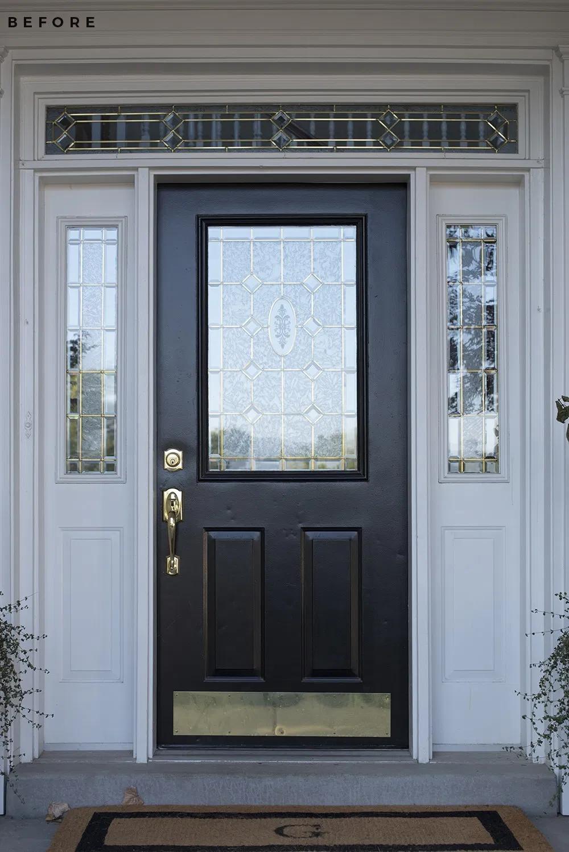 Replacing The Front Door Decorating For Fall Window Styles Exterior Doors Porch Lighting