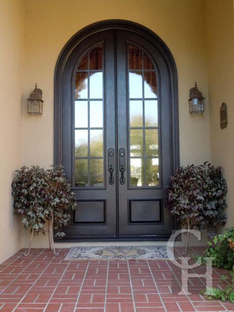 Iron Double Door Clark Hall Iron Doors Charlotte Nc Home