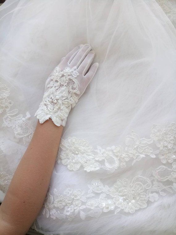 0a836d17f Ivory Party Girls gloves