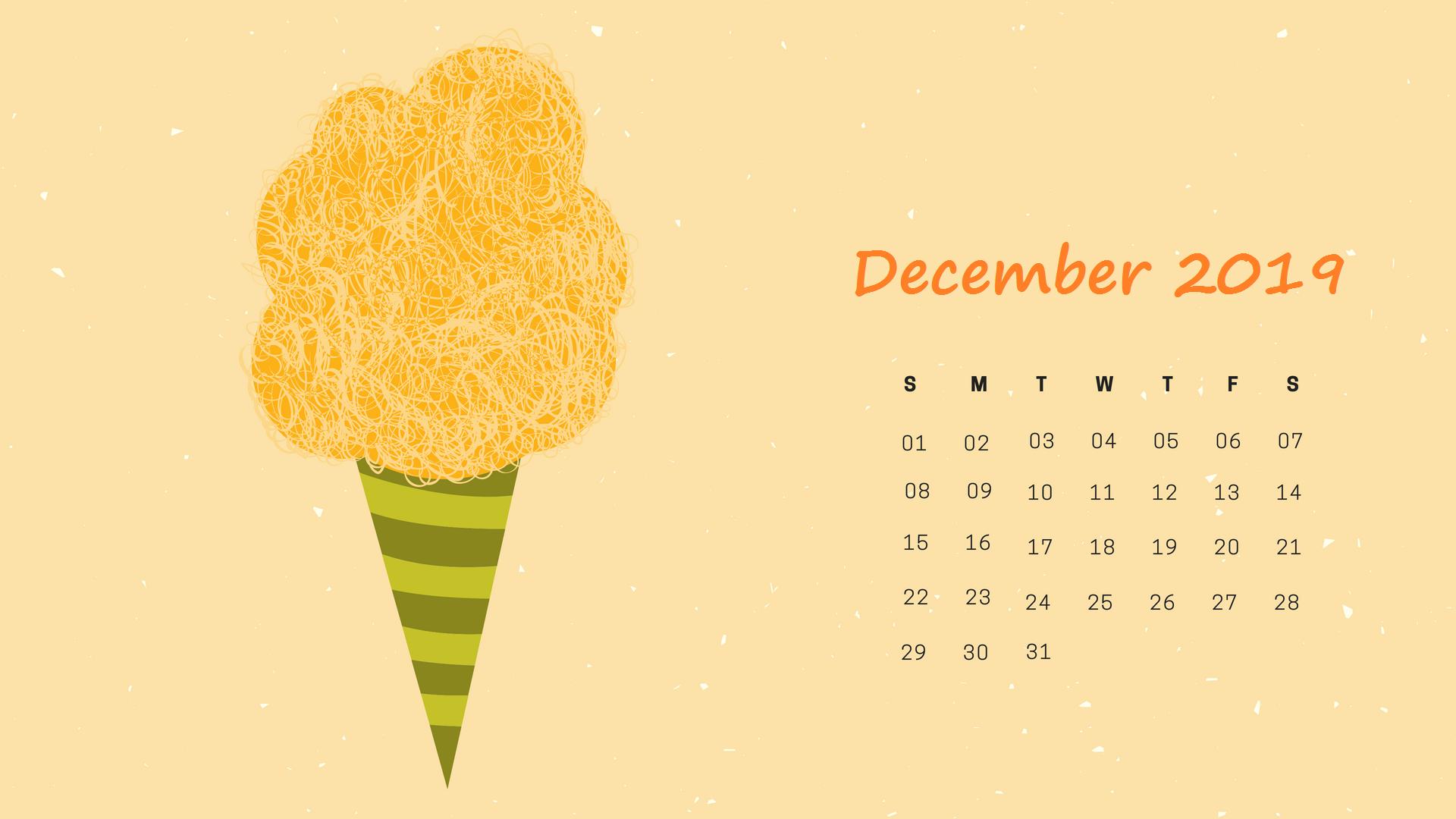 Free December 2019 Desktop Calendar Wallpaper With Images Calendar Wallpaper Printable December Calendar Desktop Calendar