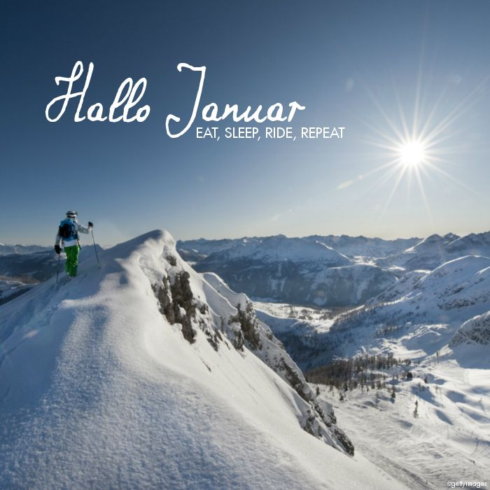 Hallo #Januar #eat #sleep #ride #repat #justawaycom #travel #quotes #reisen #urlaub bit.ly/Angebote_fuer_Wintersportler