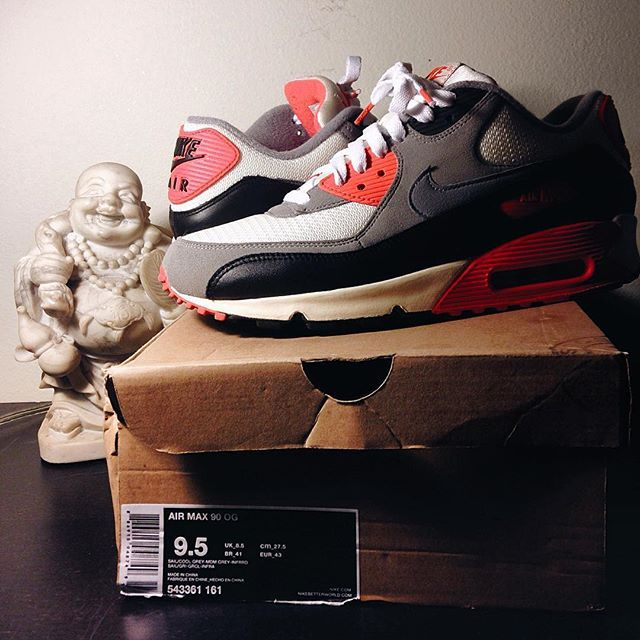 Laced Up Laces | White Infrared Laces | Air Max 90 Infrared