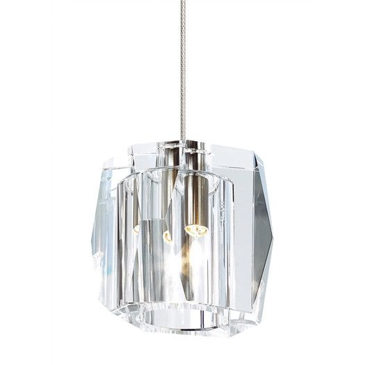 Lbl lighting lexum 1 light monopoint mini pendant allmodern