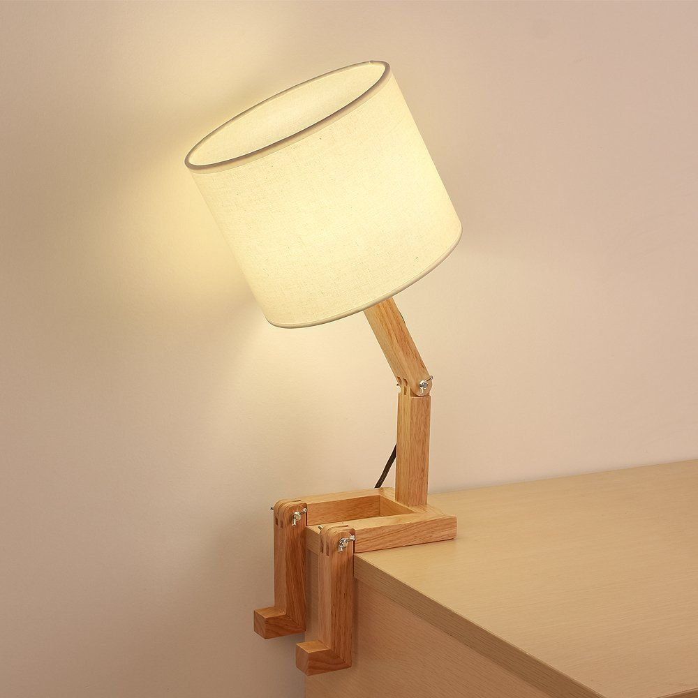 Product Of The Week Cute Wooden Stick Figure Lamp Wooden Table