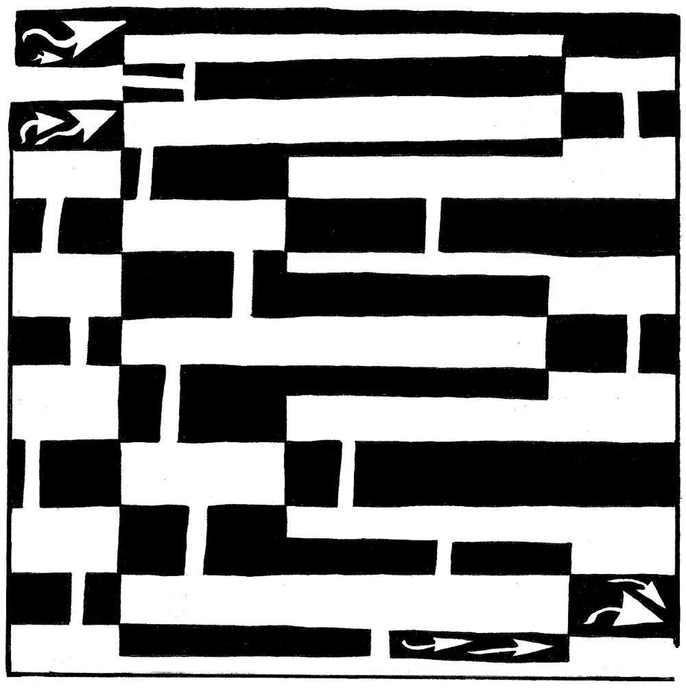 Op Art Letters...new square 1 art lesson Optical