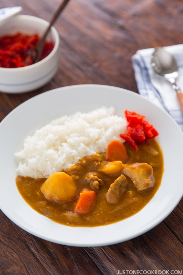 Pressure Cooker Japanese Curry カレーライス 圧力鍋 Just One Cookb Recipe Easy Japanese Recipes Recipes Japanese Curry