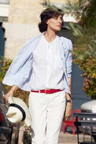 elle fashion: Inès de la Fressange franch style icon