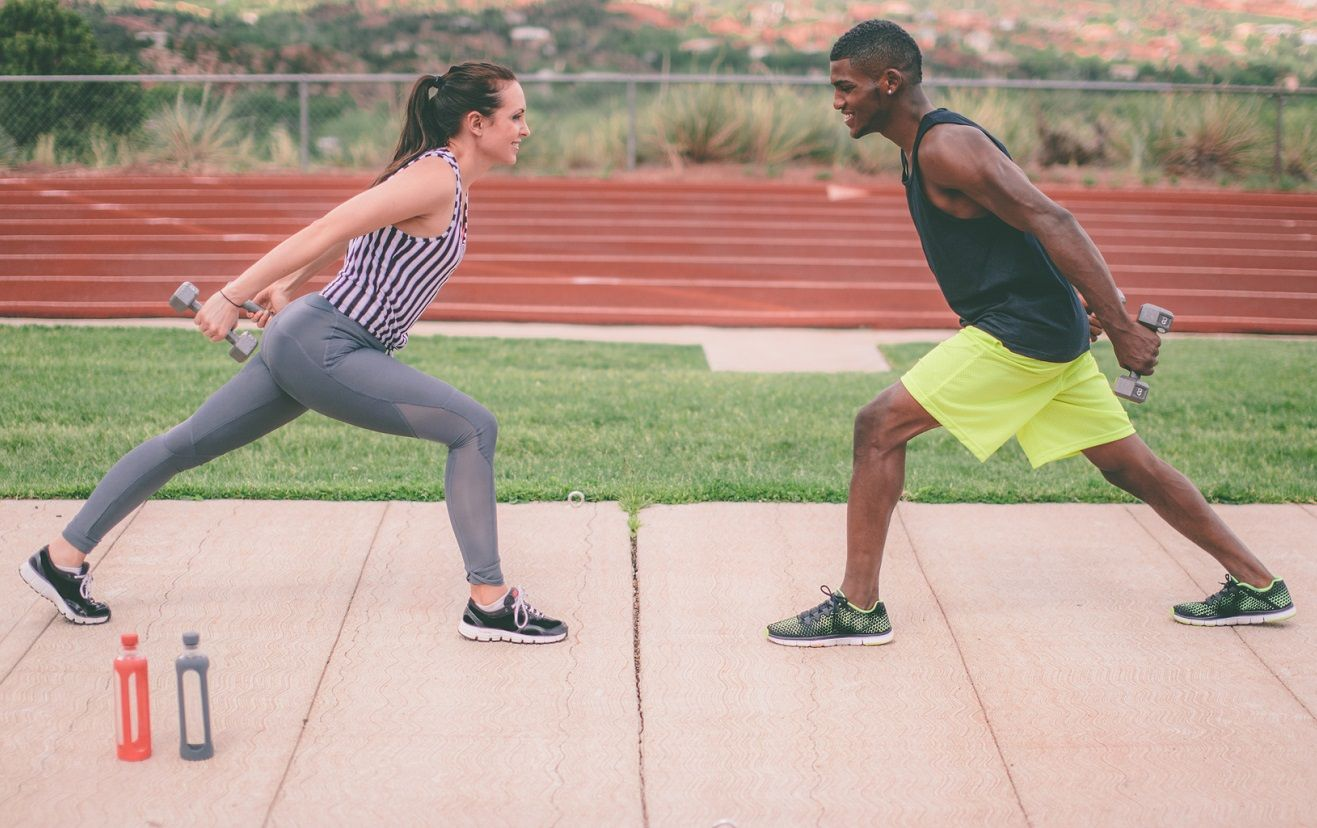 A Total Body Workout In 4 Moves Partner Workout Total Body Workout Fitness Body