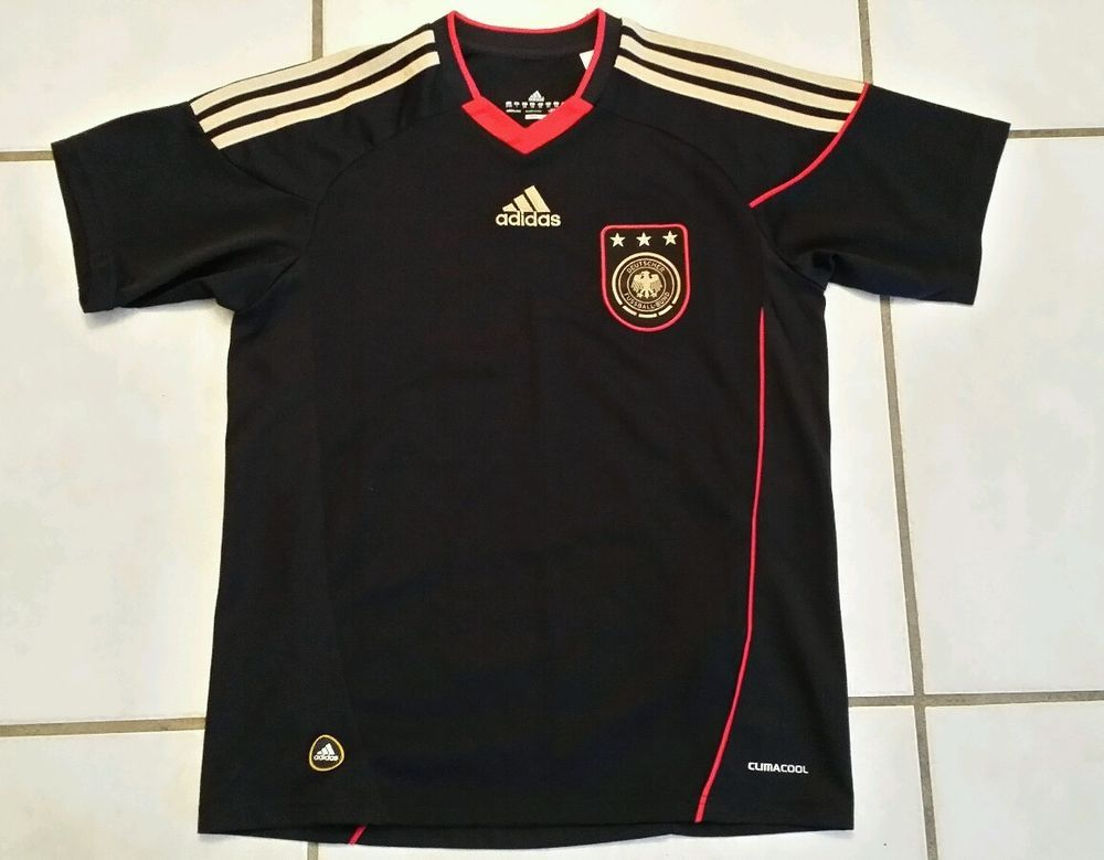 Fan Apparel & Souvenirs Rare Adidas Germany National Team 2012 Away Jersey Youth Small Elegant Appearance