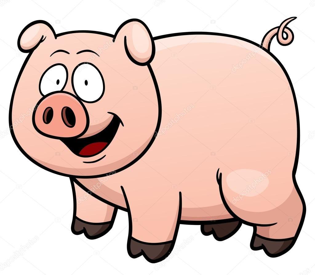 Vysledek Obrazku Pro Prase Kresleny Obrazek Pig Cartoon Farm Animals Animals