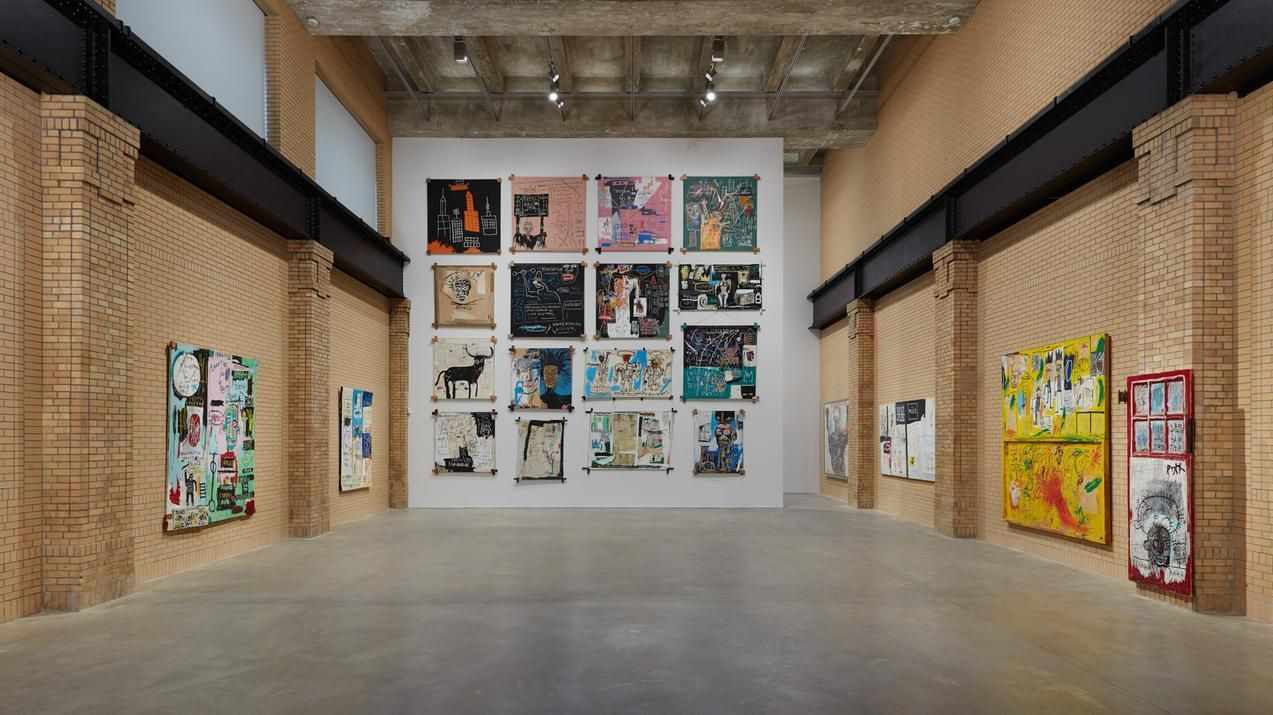 The Exhibition Offers A Rare Immersive Look Into Basquiat S Work Jean Michel Basquiat Basquiat Institute Of Contemporary Art