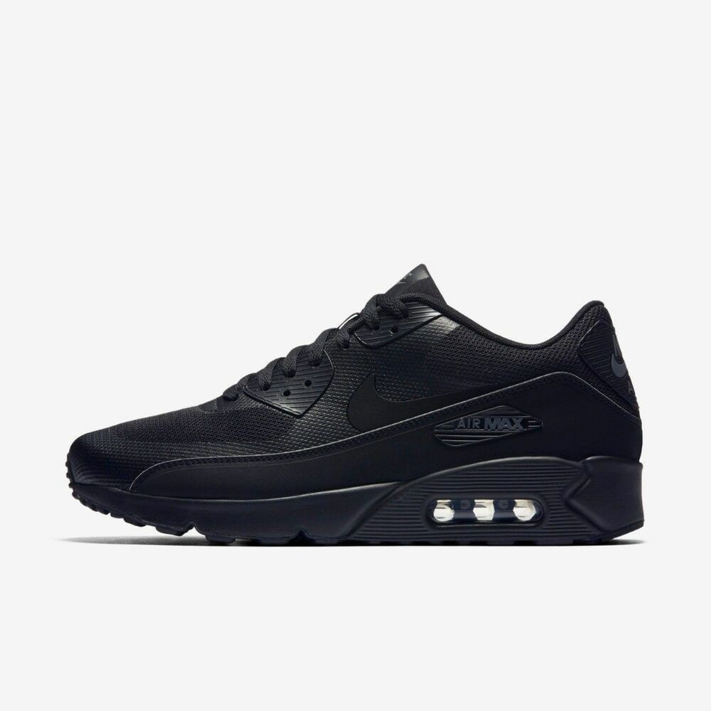 ab91929f06 Nike Air Max 90 Ultra 2.0 Essential Black Size 10.5 US Mens Athletic Shoes