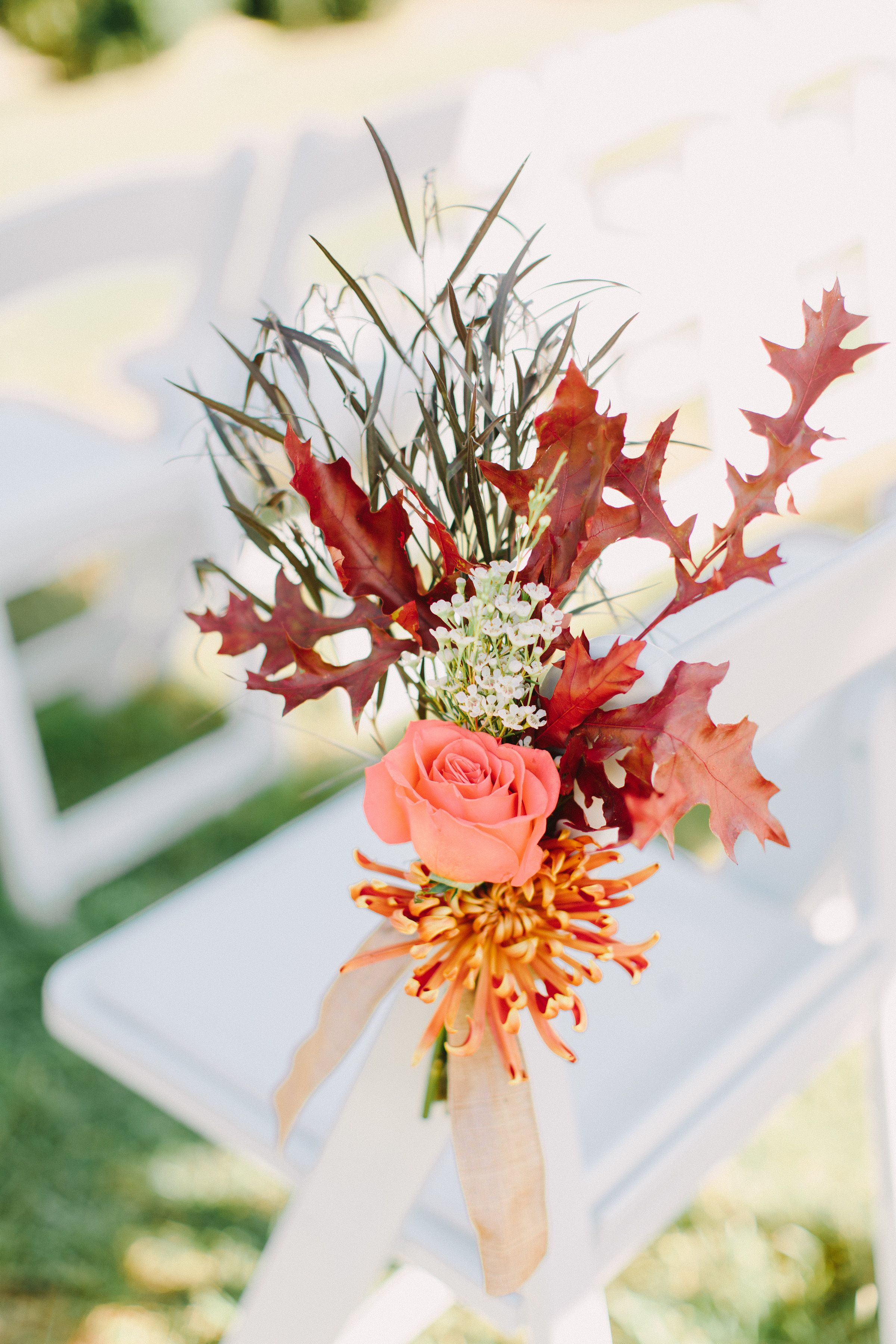 We LOVE fall weddings. The flowers, the colors, the