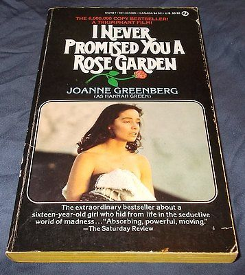 I Never Promised You a Rose Garden Joanne Greenberg TV Movie Tie-In Paperback https://t.co/Ouh3ktPOXb https://t.co/CXl0uVq0IG